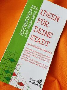 Die 12 Gewinnervorschläge für das Oranienburger Jugendbudget 2020/21 stehen fest!