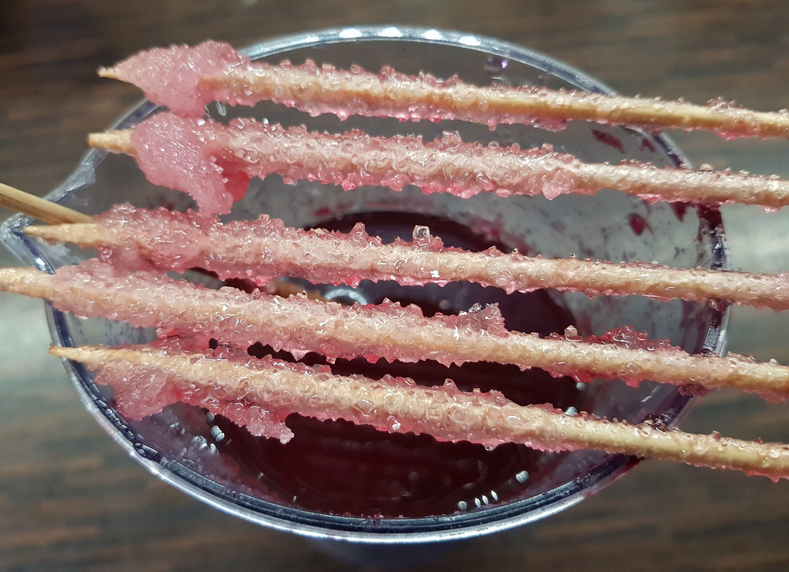 Zuckerstäbchen selbst gemacht