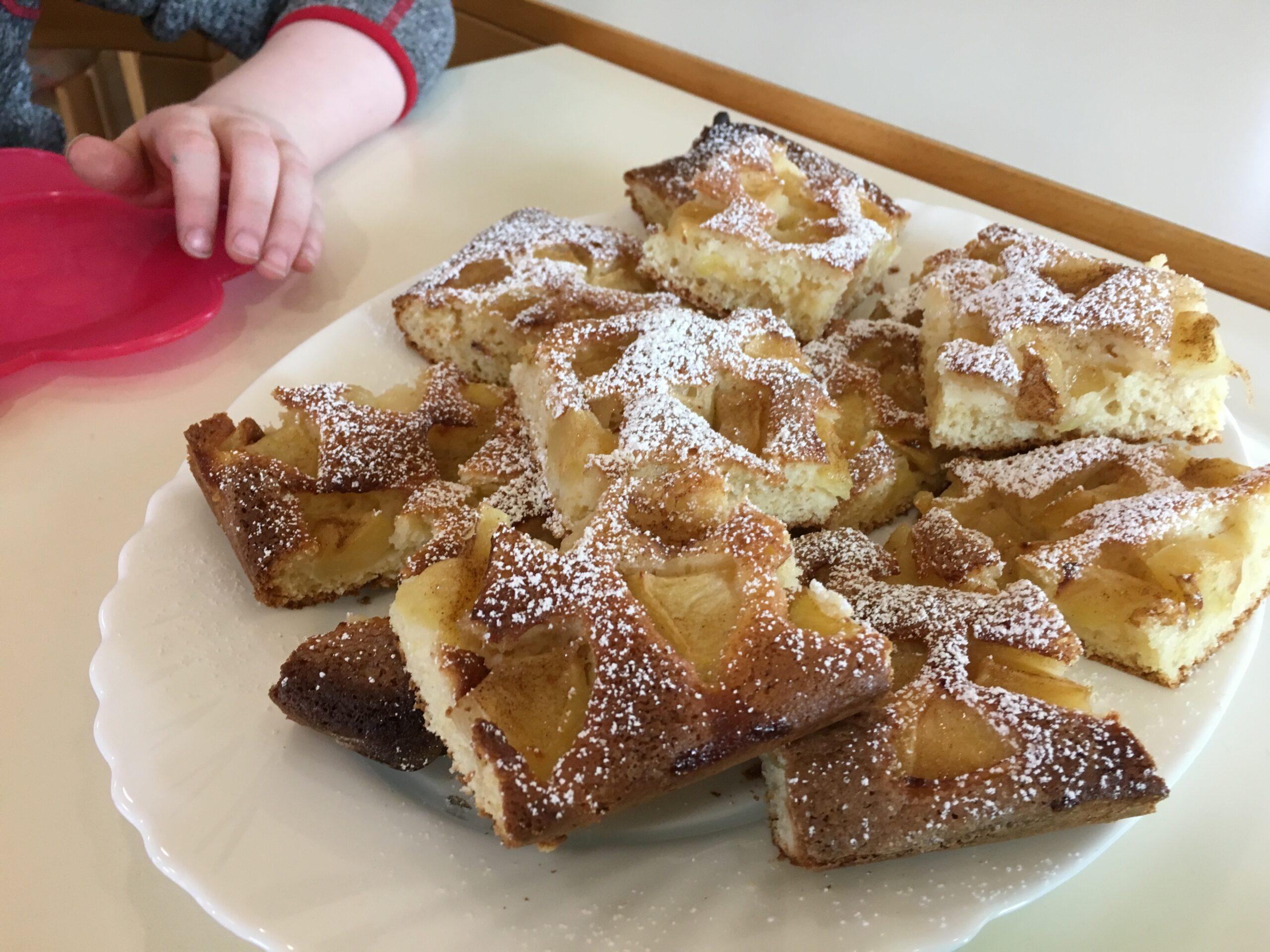 Apfelkuchen – schnell und lecker