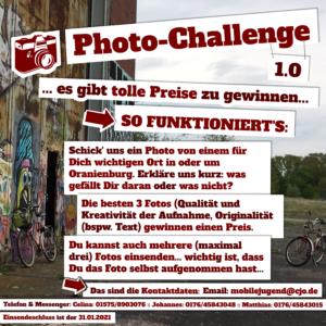 Ultimative Foto-Challenge der Mobilen Jugendarbeit