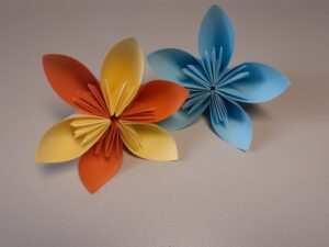 Papier-Blumen