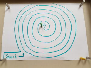 Magnet-Labyrinth