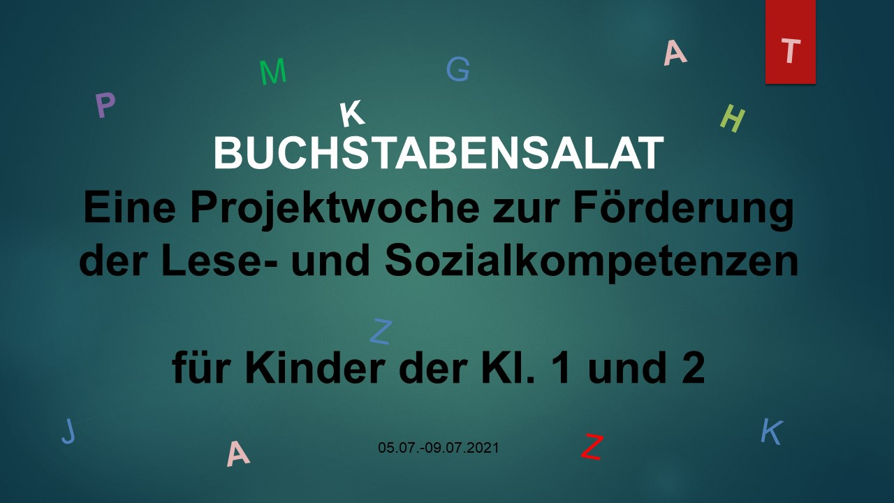 """Read more about the article """"Buchstabensalat"""" – Eine Projektwoche zur Förderung der Lese- und Sozialkompetenzen"""