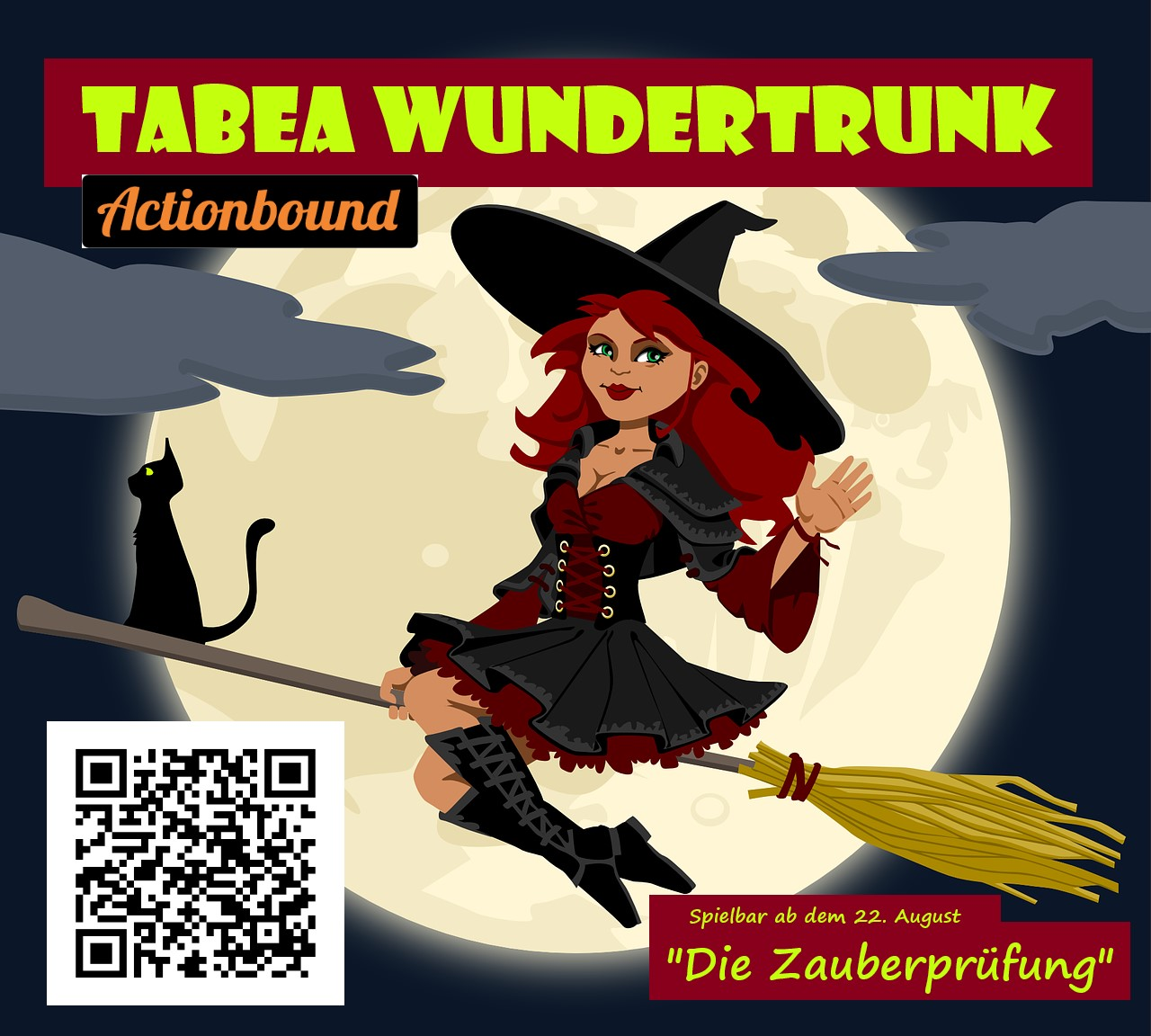 Read more about the article Actionbound: Zauberprüfung mit Tabea Wundertrunk