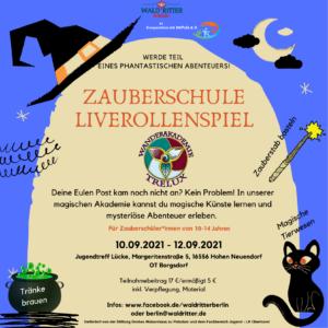 Read more about the article Zauberschule. Ein Live-Rollen-Spiel
